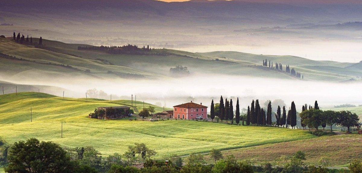 Тоскана: долина Валь д'орча, термы и вино, 1