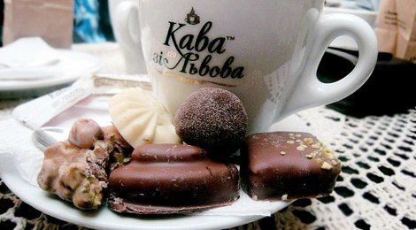 Coffee and Chocolate Lviv Tour from €15, 87