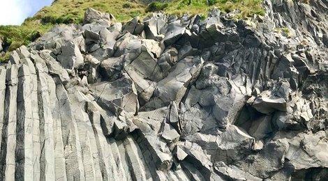 Пальцы Тролля. Черный пляж  Рейнисфияра, 90