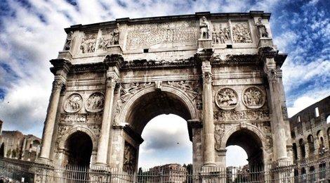 Арка Константина в Риме, 83