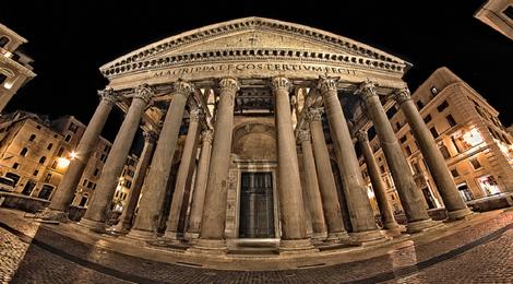 Пантеон в Риме, 83