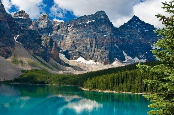 Западная Канада, скалистые горы, 85