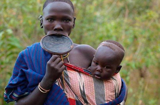 Племена Южной Эфиопии 23.07.2021, 114
