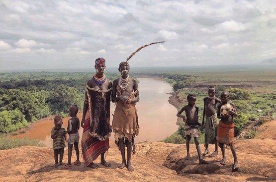Племена Южной Эфиопии 23.07.2021, 115