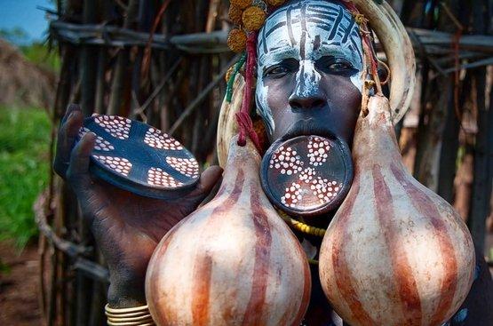 Племена Южной Эфиопии 23.07.2021, 112