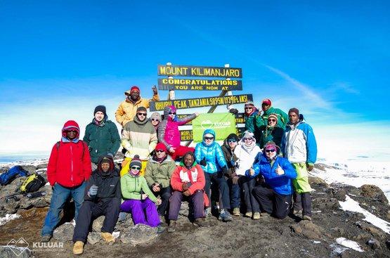 Восхождение на Килиманджаро, 115