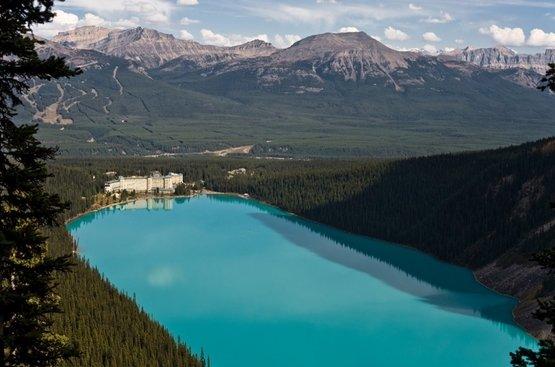 Западная Канада, скалистые горы, 91