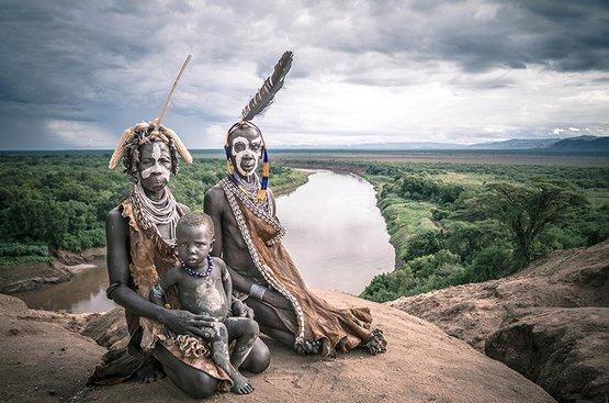 Племена Южной Эфиопии. Фотоэкспедиция., 114